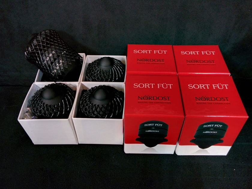 Nordost Sort Fut Set Of 4  Excellent Condition!