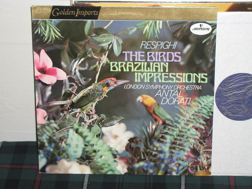 Dorati/LSO  Respighi - The Birds  >>TAS<< Mercury Golden Imports