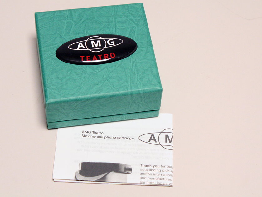 AMG Teatro MC Phono Cartridge - Very low hours