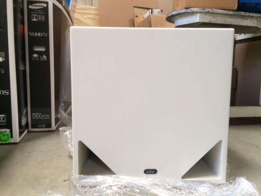 ADS MS-4u white subwoofer