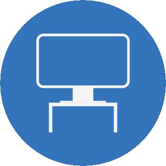 Computer monitor risers laptops