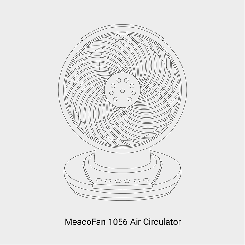 Meacofan 1056P Range