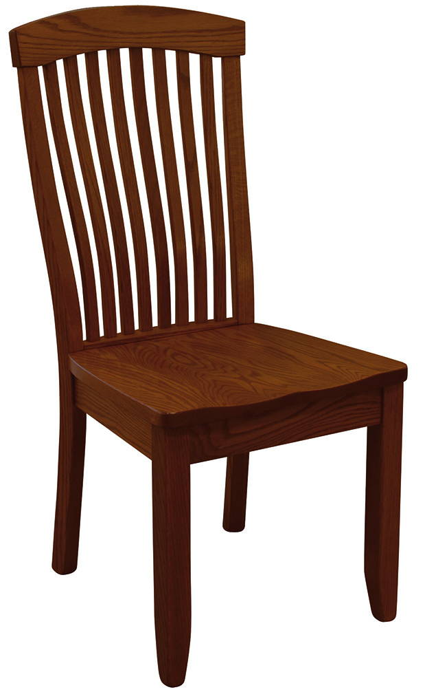 Empire Solid Wood, Handcrafted Kitchen Chair or DIning Chair from Harvest Home Interiors Amish Furniture