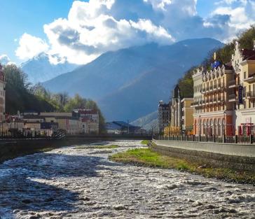 Три горнолыжных курорта и шоу поющих фонтанов