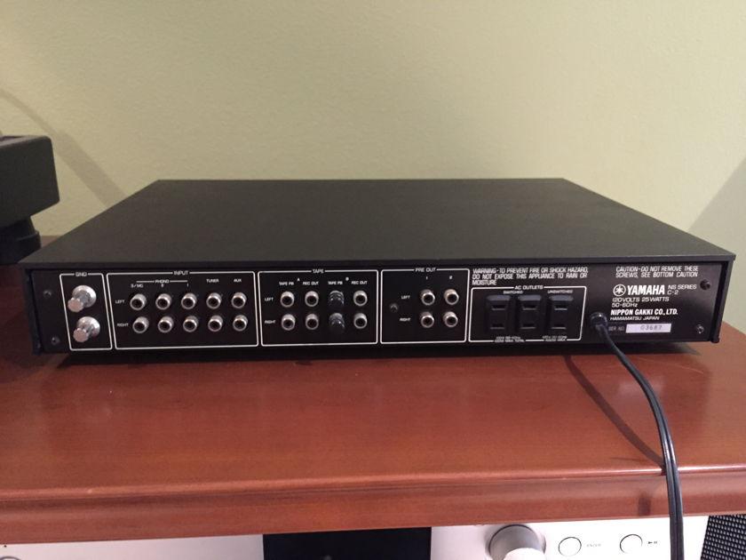 Yamaha B2 amp with matching C2 preamp Yamaha B2 VFET amp with matching C2 preamp