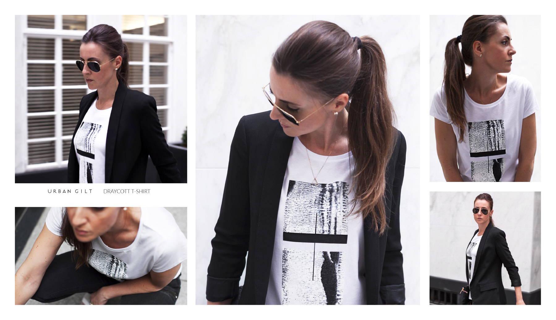 Urban Gilt Lookbook | Uptown Style | Draycott T-shirt