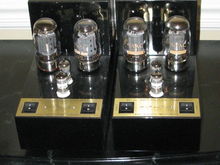 Vac Auricle MusicBloc 70 Monoblock Pair (2 Amps) -- L@@K