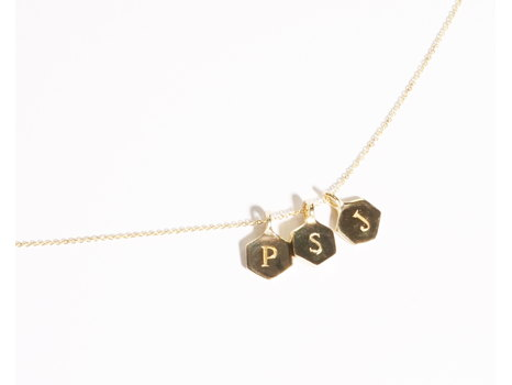 Odette New York - Personalized Monogram Charm Necklace