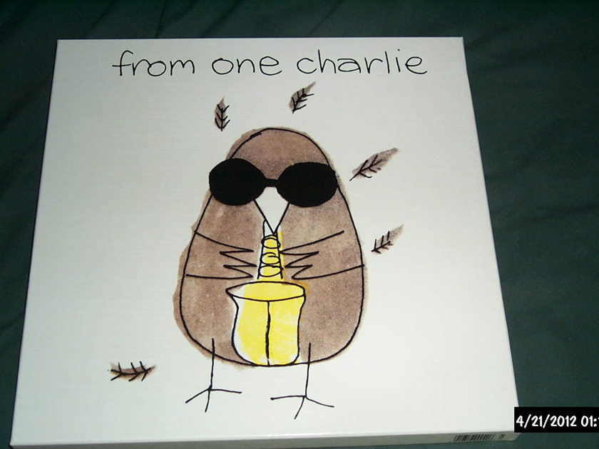 Charlie Watts(Rolling Stones) - From One Charlie autographed edition rare