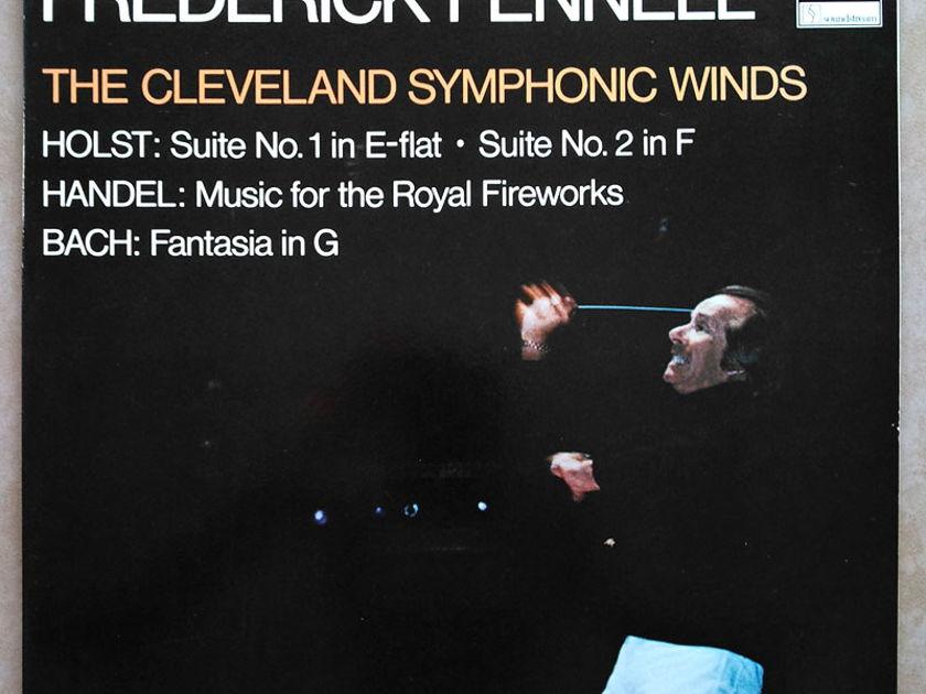 Audiophile TELARC | FENNEL/HOLST - Suites Nos. 1 & 2/BACH Fantasia/HANDEL Music for the Royal Fireworks / NM