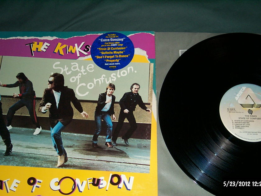 The kinks - State Of Confusion lp nm