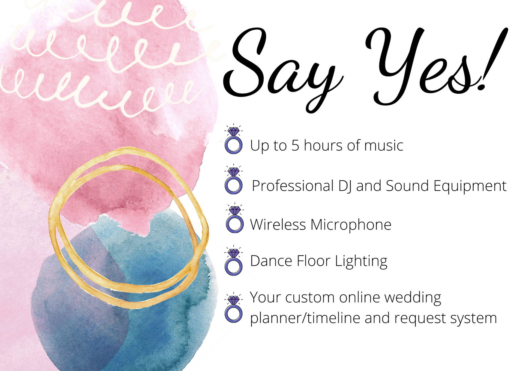 Photobooths Wedding Packages inclusions