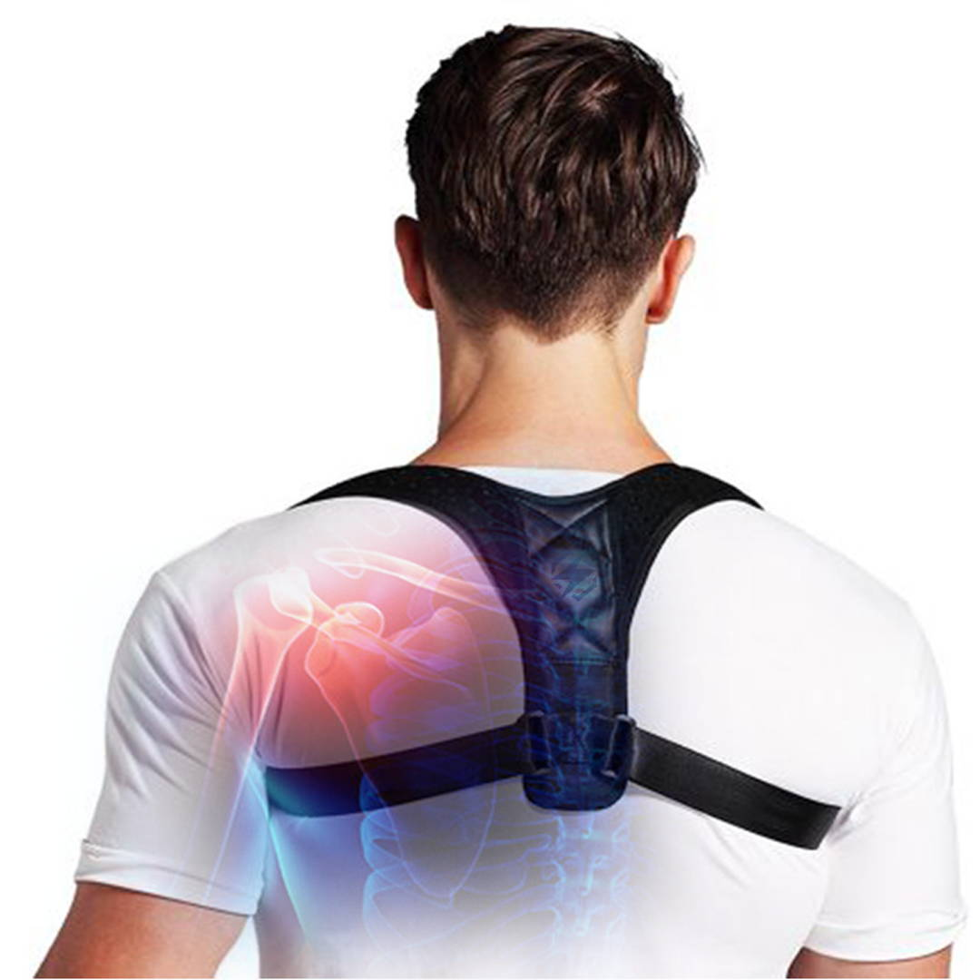 back posture corrector before after