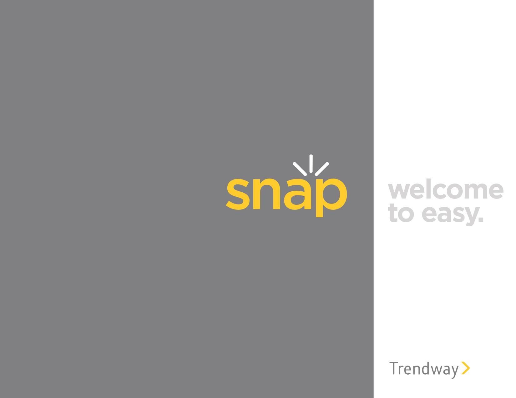 Trendway Furniture Snap Brochure