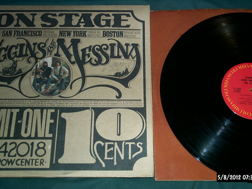 Loggins & Messina - On Stage 2 lp gatefold cover nm