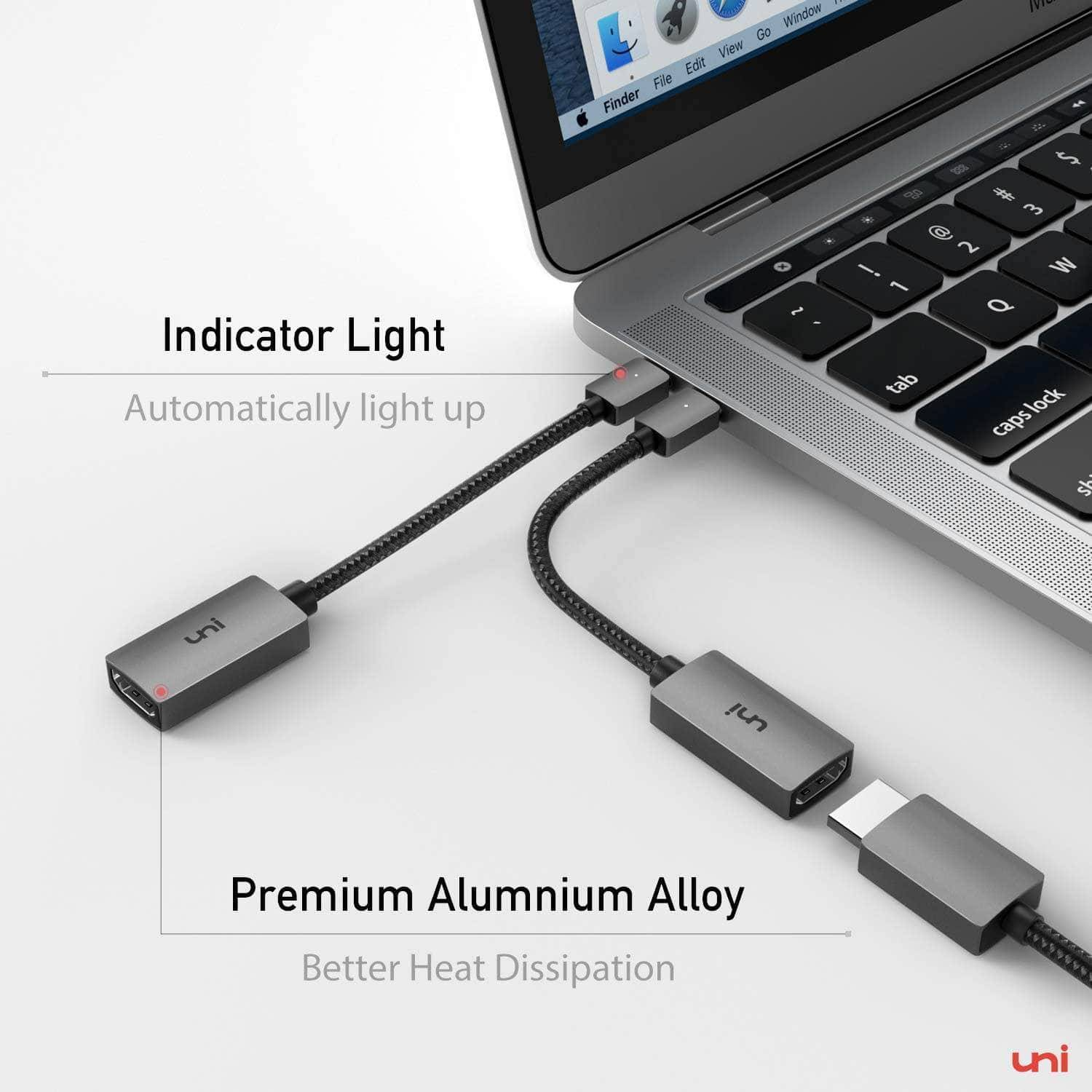 USB-C to HDMI Adapter 4K@30Hz - 2 Pack, usb c to hdmi adapter, type c to hdmi, usb type c to hdmi adapter, hdmi adapter for macbook