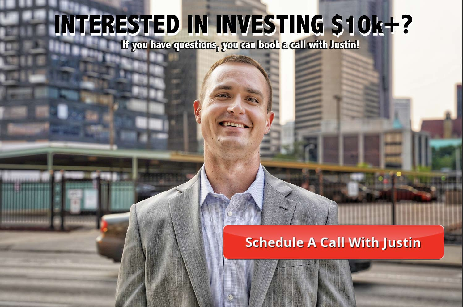 Schedule a call with Justin