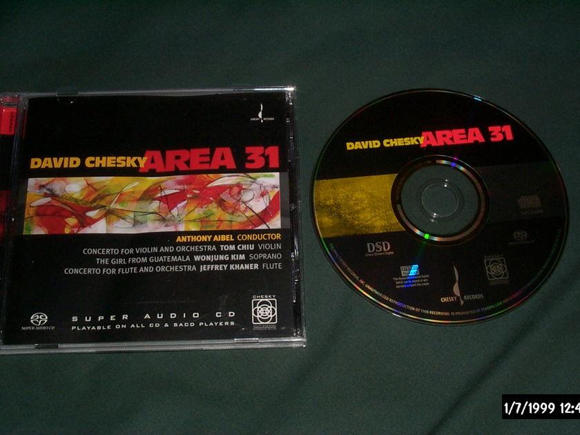 David Chesky - Area 31 SACD hybrid NM