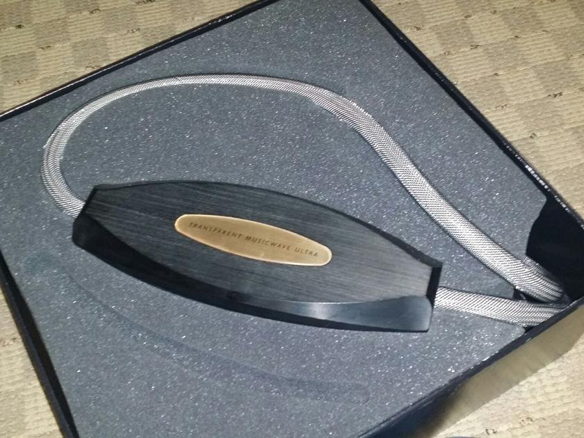 Transparent Audio music wave ultra MM2 10 feet Spade > spade