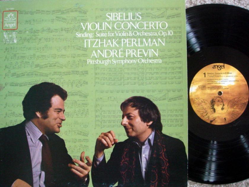 EMI Angel / PERLMAN-PREVIN, - Sibelius Violin Concerto,  NM-!