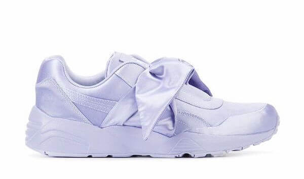 Puma Women's Bow Sneakers in Lavender
