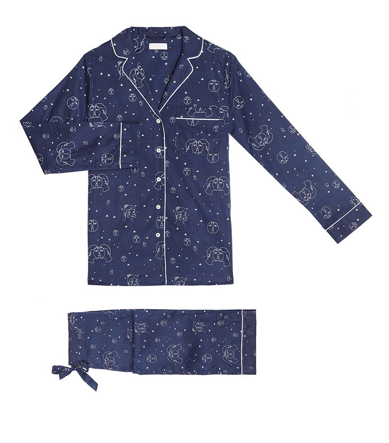 YOLKE Cotton Pyjama Sets | The Lovers Eclipse Cotton Pyjama Set