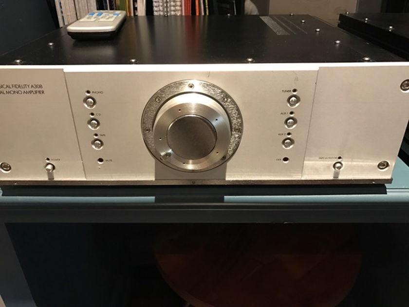 Musical Fidelity a308  Dual Mono Amp