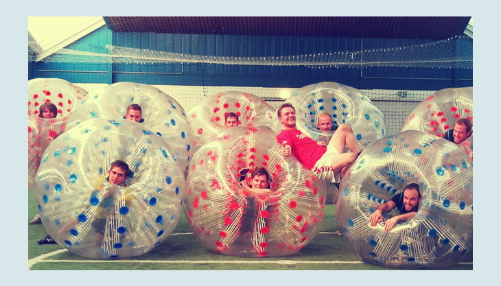 alma parl gelsenkirchen bubbleball