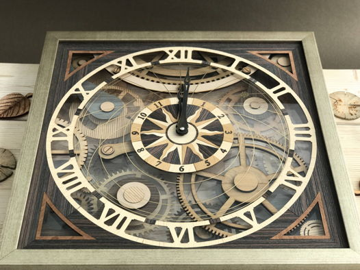 Часы настенные «Шестеренки»