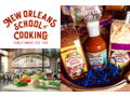 The New Orleans School of Cooking Demonstration and Apron
