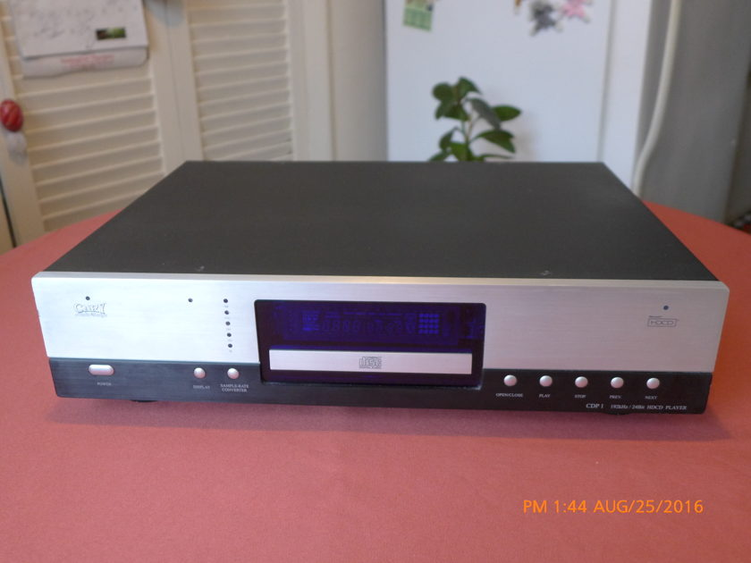Cary Audio Design  CD player CDP1 Cary Audio Design CD player CDP1