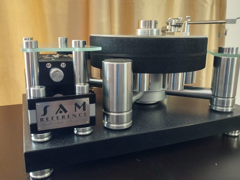Small Audio Manufacture Reference High End Turntable Reference by Small Audio Manufacture