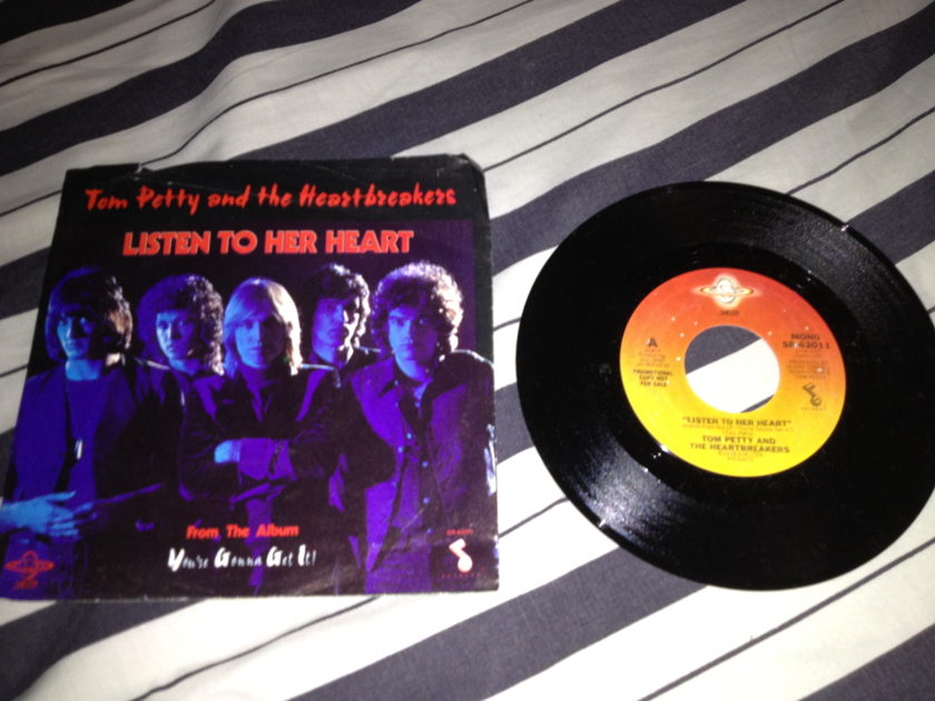 Tom Petty - Listen To Her Heart 45 With Sleeve