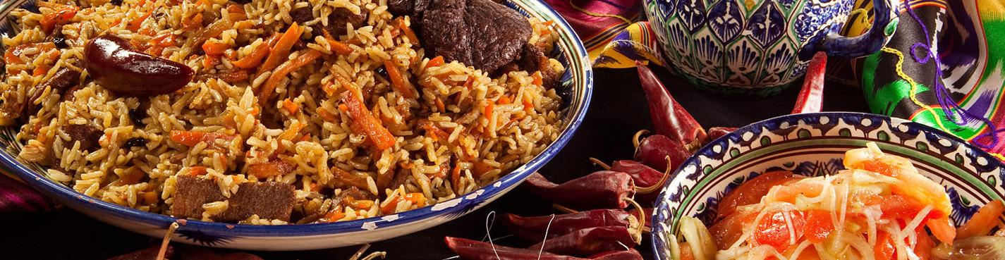 Introduction to Uzbek food on Vasilievsky Island