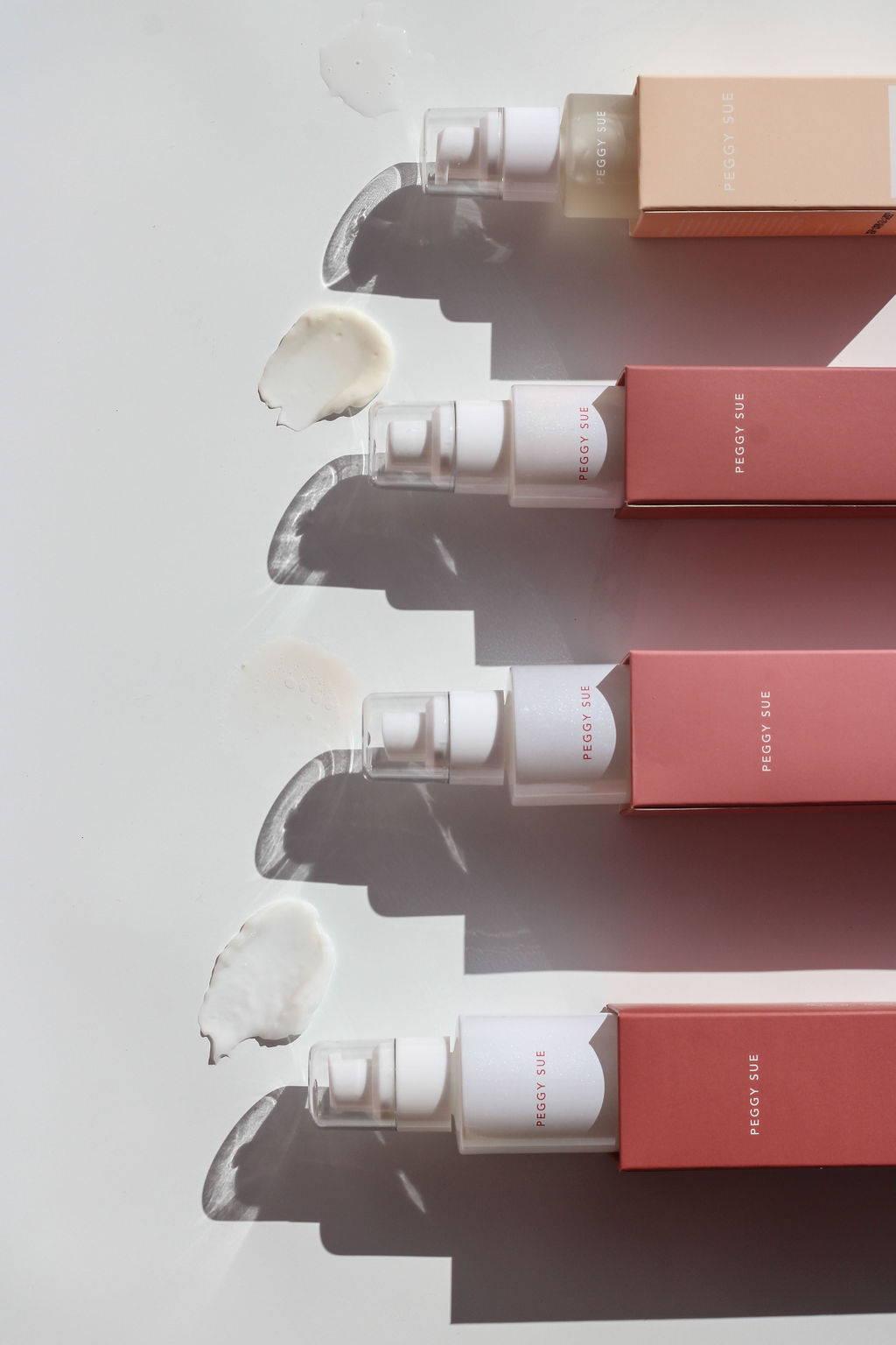 Product shot of moisturisers