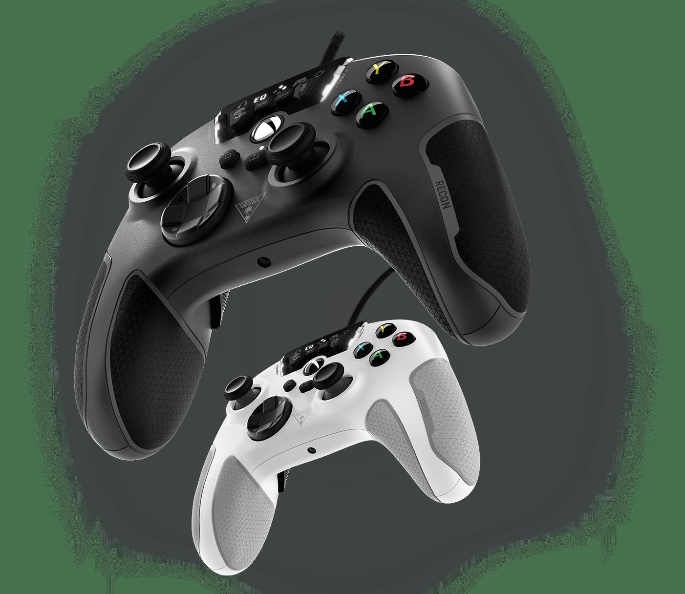 recon controller black & white
