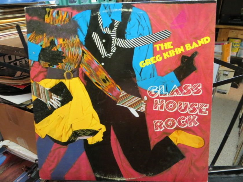 Greg Kihn Band - GLASS HOUSE ROCK