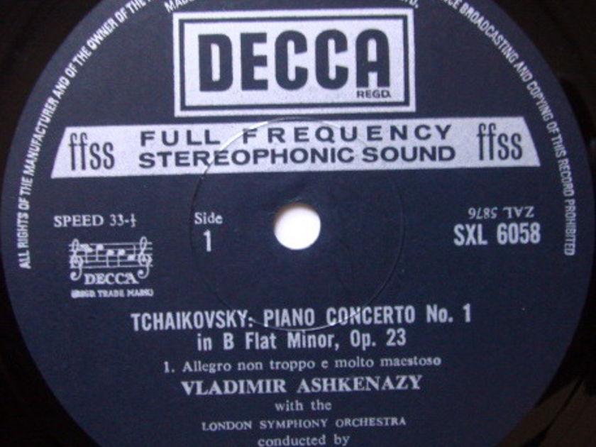 DECCA SXL-NB-ED4 / ASHKENAZY-MAAZEL, - Tchaikovsky Piano Concerto No.1, NM!