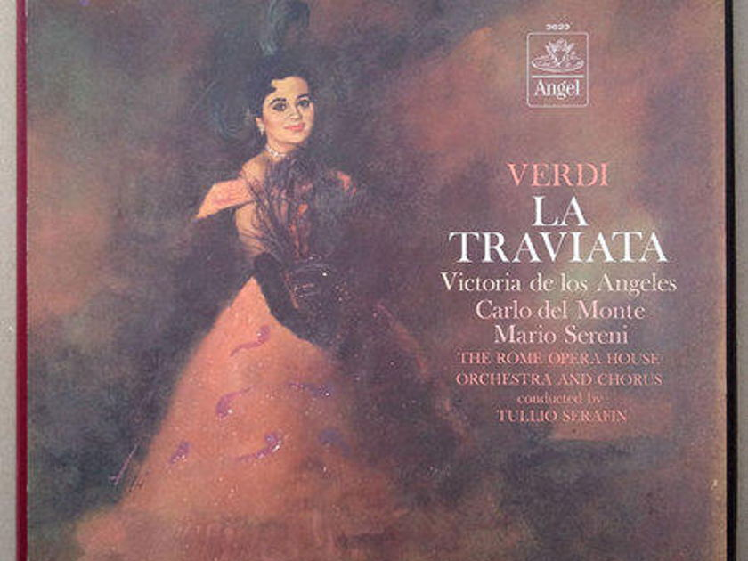 Angel (blue label)/Tullio Serafin/Verdi - La Traviata / 3-LP Box Set / NM