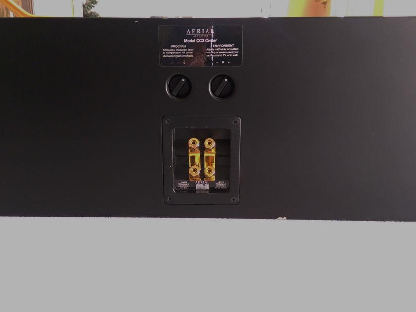 Aerial Acoustics CC-3 Black