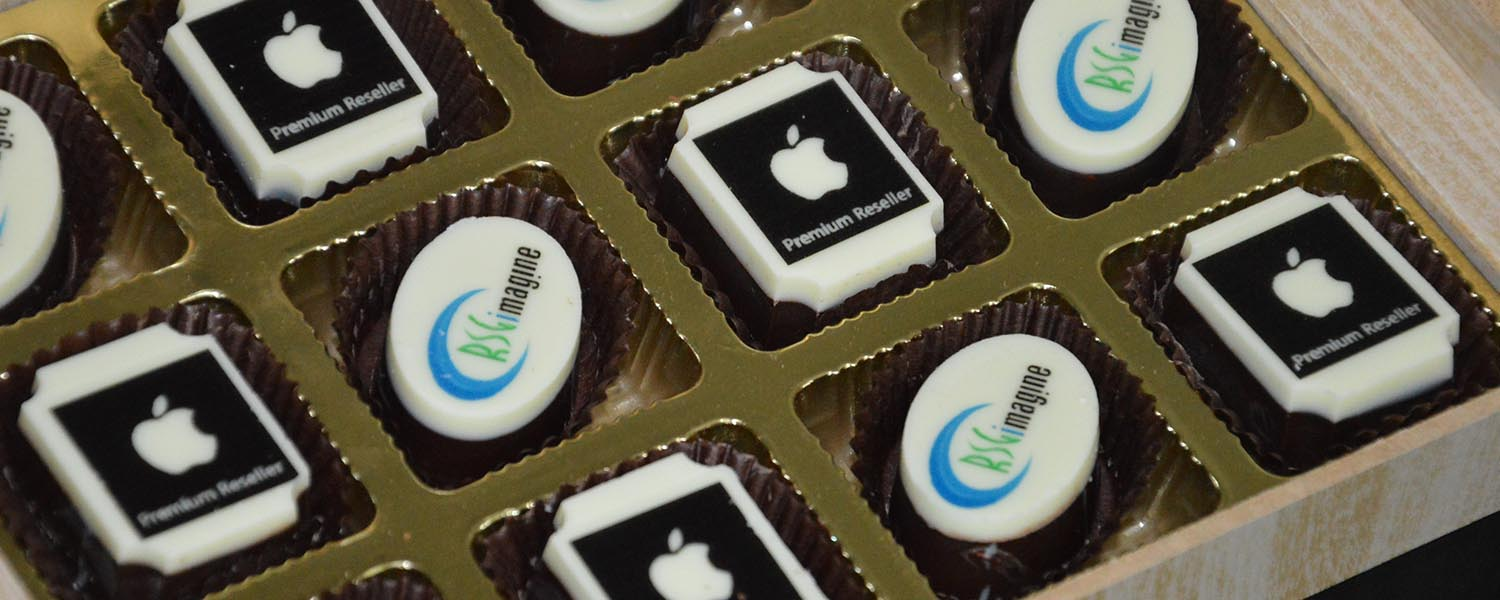 chocolates for apple store