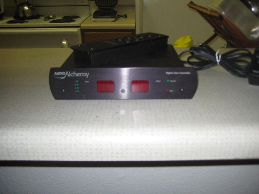 Audio Alchemy DLC Remote preamp