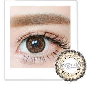 No. 7 Lady Brown circle lenses