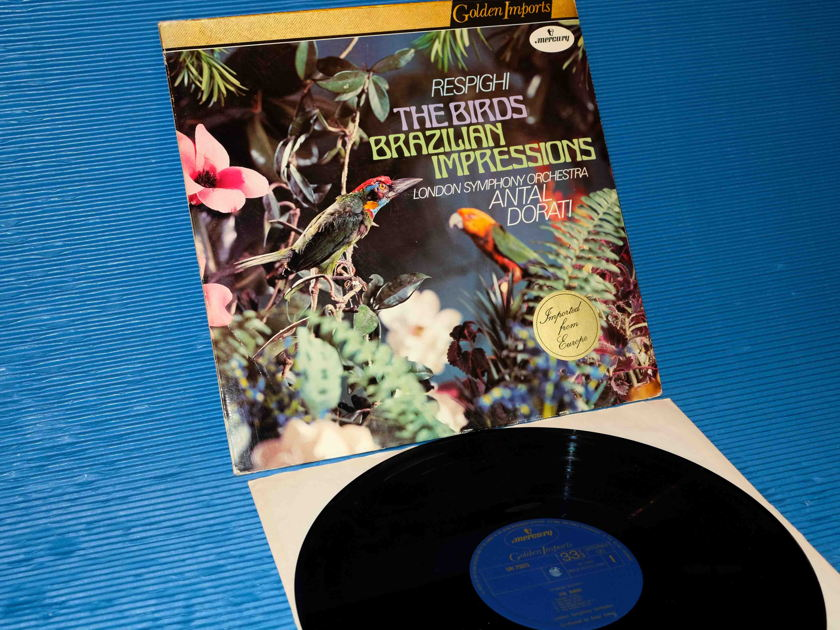 "RESPIGHI / Dorati  - ""THE BIRDS"" -  Mercury Golden Imports 1976"