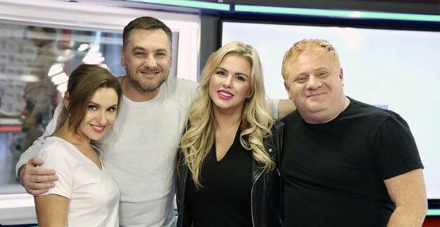 Анна Семенович побывала в гостях у «Русских Перцев» - Новости радио OnAir.ru