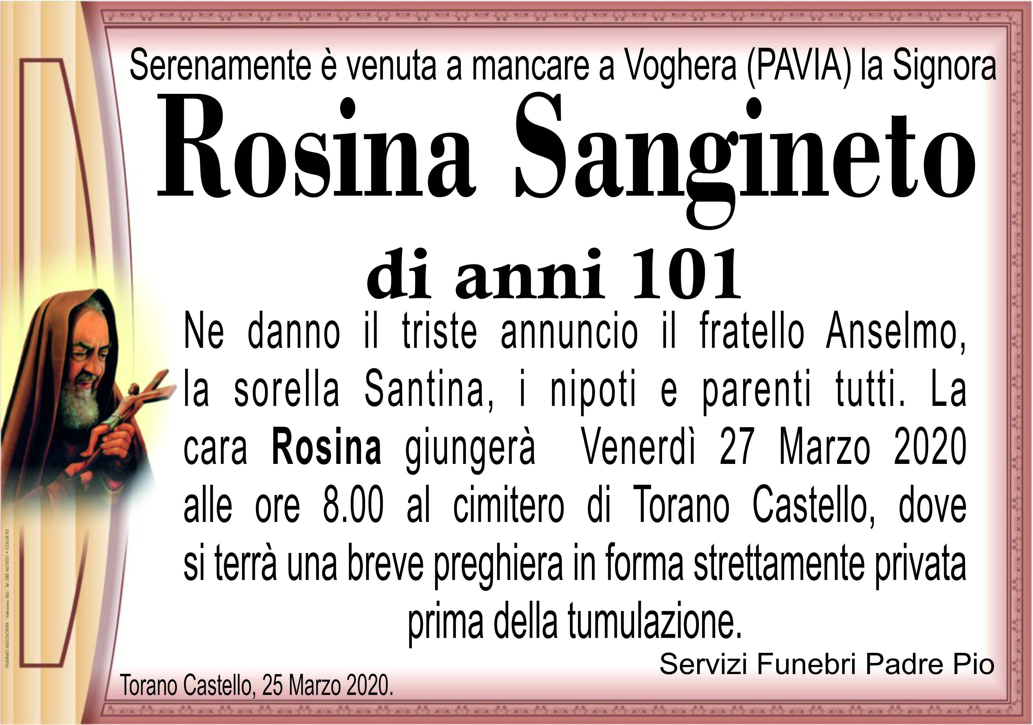 Rosina Sangineto