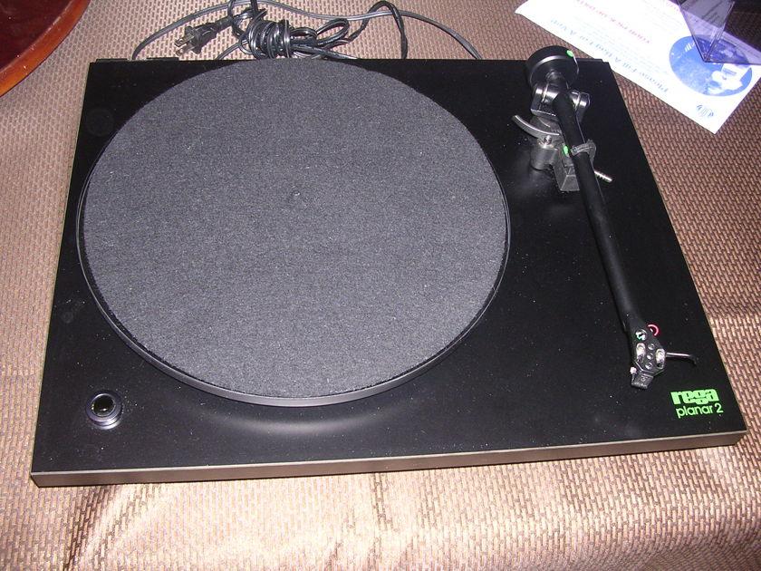 Rega Planar 2 turntable w/ Grado cart + MF phono amp
