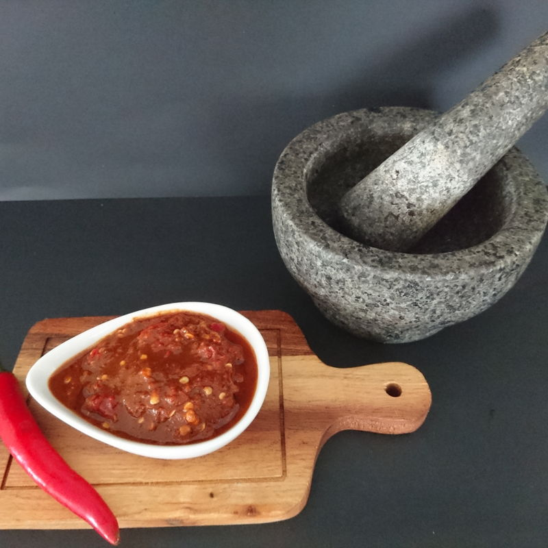 Date: 24 Nov 2019 (Sun) 4th Condiment: Sambal Belacan (Raw Chillies with Shrimp Paste) [114] [117.2%] [Score: 9.0]