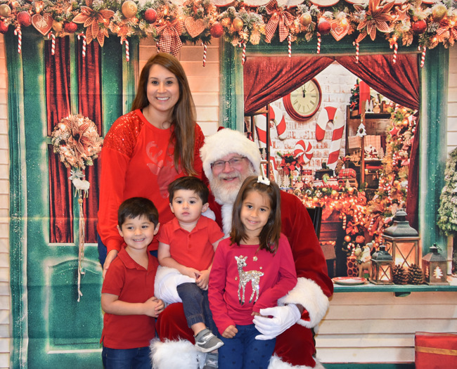 Santa, Christmas, holiday season, holidays, Santa Claus, daycare, child care, best, Clear Lake, education, infant, toddler