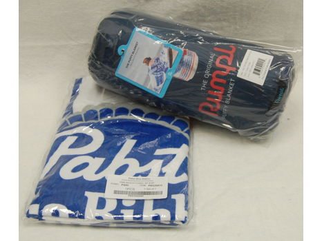 Pabst Blue Ribbon Travel Throw and Beach Towel